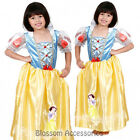 CK254 Disney Ornate Snow White Fancy Dress Up Child Girl Book Week Costume