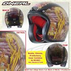 O'Neal Oneal Rockhard IRON MAIDEN American Classic Open DOT Motorcycle Helmet