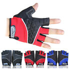 Weight Lifting Gym Fitness Workout Training Exercise GEL Silicone Half Gloves