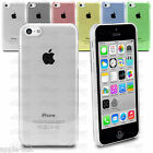 Ultra Thin Stylish Super Slim Crystal Clear Hard Back Case For Apple iPhone 5C