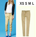 NWT Lady Loose Casual Harem Pants Trousers with Belt XXS XS S M L #PAE