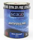 New Seago Antifouling Paint For Powerboats/Yachts/Boats 3 L  Type/Colour Choice