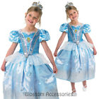 CK203 Disney Princess Glitter Cinderella Gown Dress Child Girl Book Week Costume