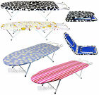 Portable Compact Folding Table Top Ironing Iron Board Camping Travel Foldable