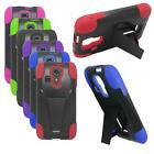 Phone Case For Kyocera Hydro Life Silicone Corner Hard Cover with Stand