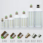 E27 E26 E14 E40 B22 B15 5W 8W 15W 25W 30W LED SMD 5050 Light Bulb Lamp 110V 220V