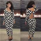 Sexy Clubwear Hot Ladies Bandage Bodycon Jumpsuit  Rompers