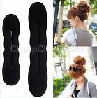 HOT  Foam Sponge Style Magic Bun Former Hair Styling Maker Tool Clip Twist