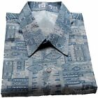 Mens Thai Silk Shirt / Short-Long Sleeve / Small - XXXL / Pattern no.6
