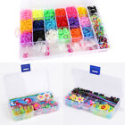 New Popular Colorful Loom Rubber 4800 Band Refill Charms Kit Hot DIY Toy Gift