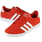 Adidas Vlneo Court Shoes Sneaker Suede Red-white NEO Sz. 13.5