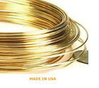 3 Inch 14K Solid Yellow Gold 18 Ga - 30 Ga DEAD SOFT  Round Wire 3