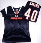 Chicago Bears Football Ladies Sayers Draft Me Jersey Shirt Navy $16.99 USD on eBay