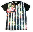 XZAVIER FLY THE FLAG PLANTLIFE FLORAL T SHIRT SUBLIMATED SUBLIMATION 4TH OF JULY