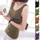 D162 Lady's New Summer Sexy Vests Blouse Tank Top Sleeveless Camisole Blouse