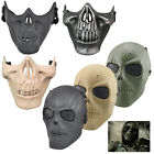 Army Skull Skeleton Airsoft Paintball BB Gun Face Mask Game Protect Safe 4 Color