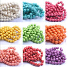 TURQUOISE ROUND Charms Loose Spacer BEADS - Choose 6MM 8MM 10MM 12MM 14MM