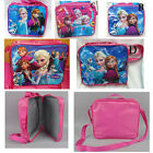 5 Style Frozen Disney Elsa Anna Shoulder Messanger Bag Girls Kid Food Lunch Bag