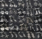 Lot Tibet Silver MIX Animal Dangling Beads Fit European Charms Bracelet Jf379