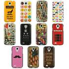 For Samsung Galaxy S4 i9500 Luxmo Vintage Design Protective Hard Case Cover