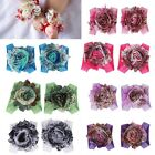 New Cute Baby Girls Infant Toddler Floral Barefoot Flower Sock Sandals Shoes