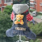2015 3D Bears Dog Clothing Wear Coat Autumn Winter Dog Jacket Sweater Clothes