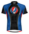 Primal Wear Grateful Dead Team Steal Your Face Cycling Jersey Men's Short Sleeve