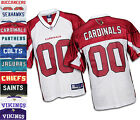 Reebok NFL Football Mens Team # 00 Replica Jerseys - BUCCANEERS, SEAHAWKS, COLTS