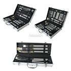 FoxHunter Stainless Steel BBQ Grill Cooking Utensils Tool Set Barbeque Cutlery