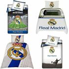 Real Madrid FC Football Club Official Single Duvet & Pillowcase Set Choose Style