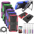 Holster For Alcatel One Touch Fierce 2 Case Rugged Cover Stand +USB/LCD/Pen 5in1