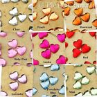Heart Acrylic Flatback Rhinestone 6mm Scrapbooking/ Card Making Craft