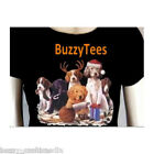 Christmas Puppies T-Shirt, X-Mas Toys, candy canes, santa hat, playful tee
