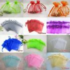 Lots 7X9cm Premium Organza Wedding Party Favor Gift Bags Jewellery Beads Pouches