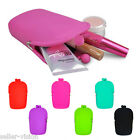 Ladies Silicone Cosmetic Makeup Bag Coin Purse Wallet Phone Case Pouch Fashion