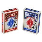 Bicycle Cards Poker Size Jumbo Index - Choice Of Colours