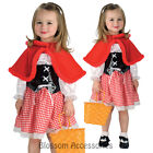 CK210 Disney Little Red Riding Hood Fancy Dress Up Child Girl Book Week Costume
