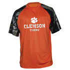 True Timber XD3 Camo Clemson Tigers Raglan SilverTec Crew Orange PA3