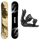 New 2015 Camp Seven Roots CRC Men's Snowboard + Flow Flite MTN Bindings Package