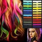 Stylish 36 Colors Non-toxic Temporary Hair Chalk Dye Soft Pastels Salon Kit D74