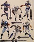"Indianapolis Colts Mini FATHEAD Official NFL Vinyl Wall Graphics 7"" - PICK ONE"