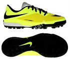 Nike Junior Hypervenom Phade TF Astro Turf Football Boots - Volt Neon Yellow