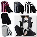 Women Lady Girls' Stretchy Glove Soft Arm Warmer Long Sleeve Fingerless Gloves