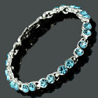 Women Swarovski Crystal Elements Tennis Bracelet (Extended Clasp)