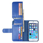 """PU Leather Credit Card Holder Folding Flip Wallet Case Cover For iPhone 6 4.7"""""""