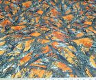 Discount Fabric True Timber 4 way Stretch MC2 Blaze Orange Camouflage 07CA