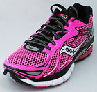 Saucony Womens Pink Black Hurricane 14 Athletic Running Shoe Ret $140 New