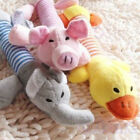 Funny Dog Toy Pet Puppy Plush Sound Chew Squeaker Squeaky Pig Elephant Duck Toys