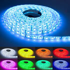 12V 5050 RGB LED Strip Tape Light 5M/10M/15M/20M/100M Waterproof Multi-color SMD