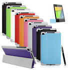 PU Leather Smart Wake Case Cover/Protector/Stylus for Google Nexus 7 FHD 2nd Gen